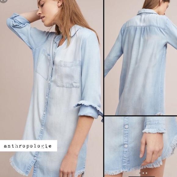 cloth & stone Dresses & Skirts - Anthropologie Cloth and Stone Denim dress